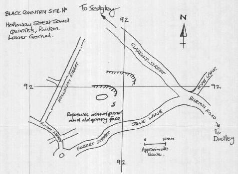 Holloway map