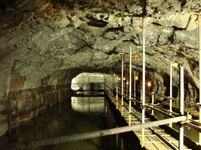 Canal Basin scaffold
