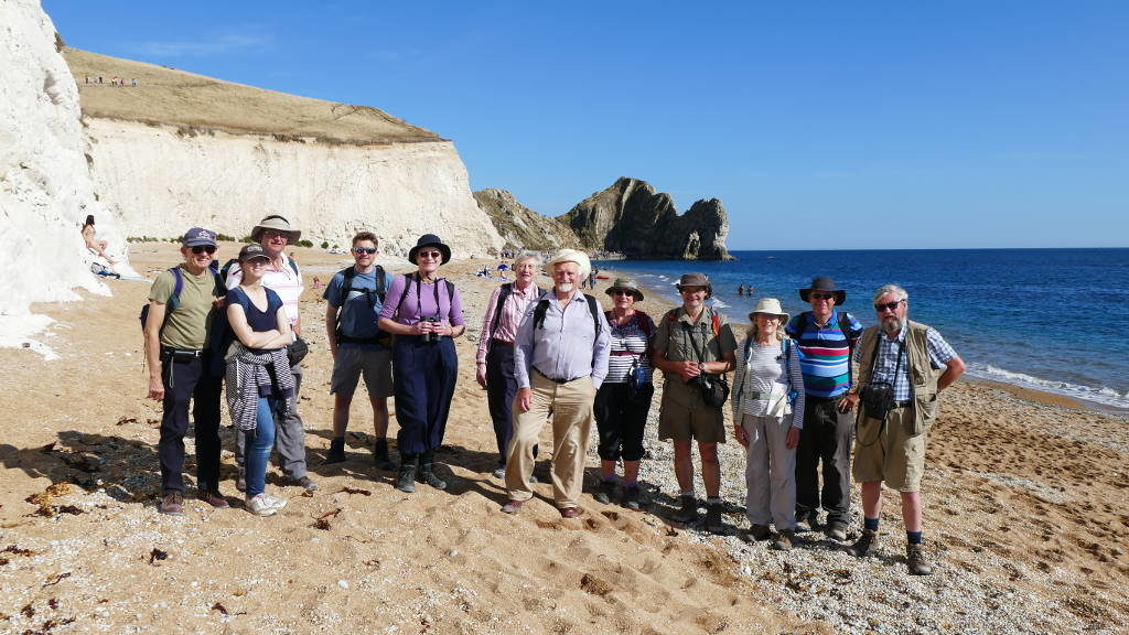 BCGS field weekend to Dorset
