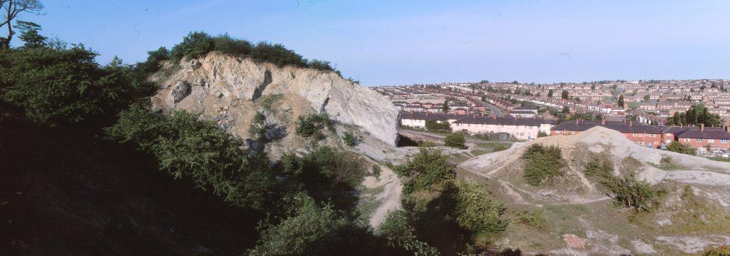 Panoramic view of Marsh's Quarry